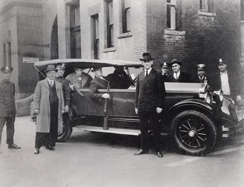 Полицейские в штатском, 1920-е University of New Orleans