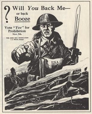 Плакат времен Первой мировой Ohio Historical Society