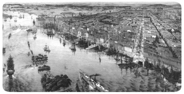 Филадельфия. XVIII век.