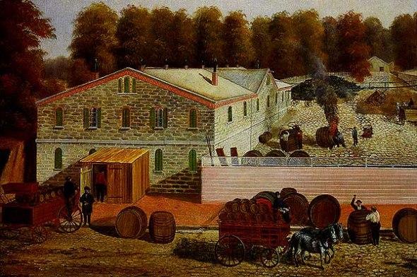Задний двор Bergner's Brewery (Филадельфия)